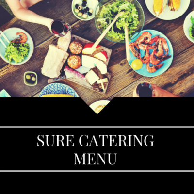 SURE CATERING MENU