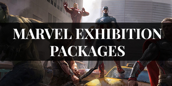 MARVEL EXHIBITION PACKAGES
