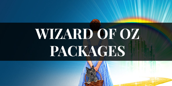 WIZARD OF OZ PACKAGES