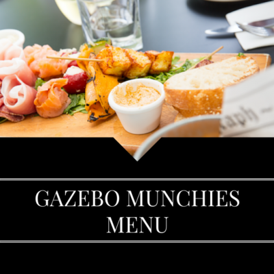 LUNCH MENU GAZEBO